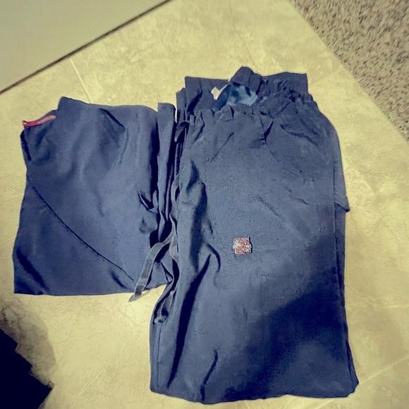 Koi scrub pants and divine scrub top